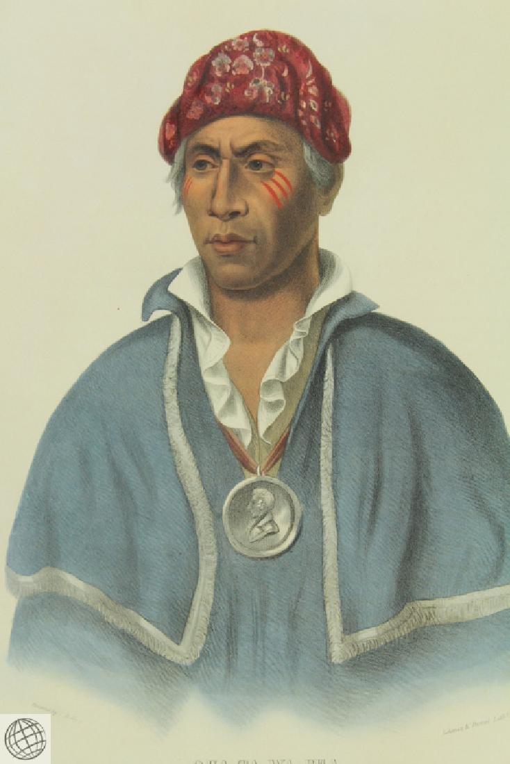 Qua-Ta-Wa-Pea or Colonel Lewis A Shawnnee Chief THOMAS - 3