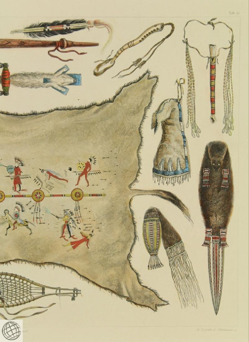SCARCE Indian Utensils and Arms KARL BODMER 1922 - 4