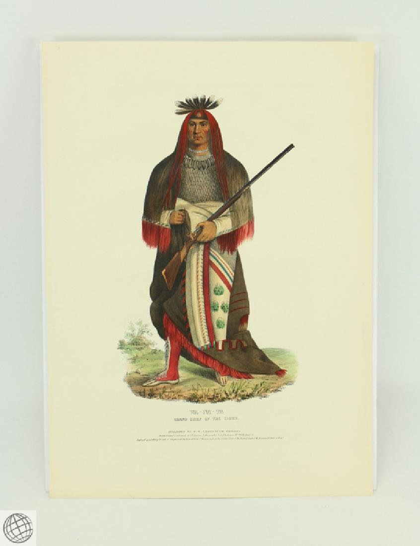Grand Chief of the Sioux Wa-Na-Ta The Charger THOMAS L