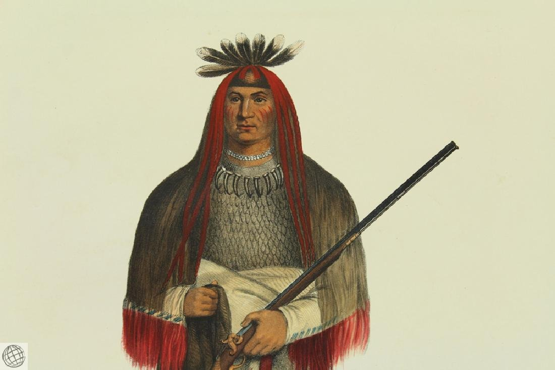 Grand Chief of the Sioux Wa-Na-Ta The Charger THOMAS L - 2