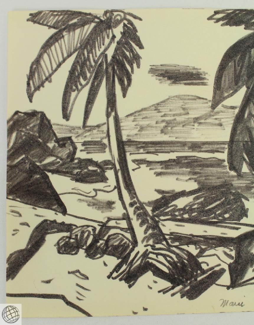 4Pcs Napili Kai in Maui WES IRWIN C1950s Ink Marker On - 9