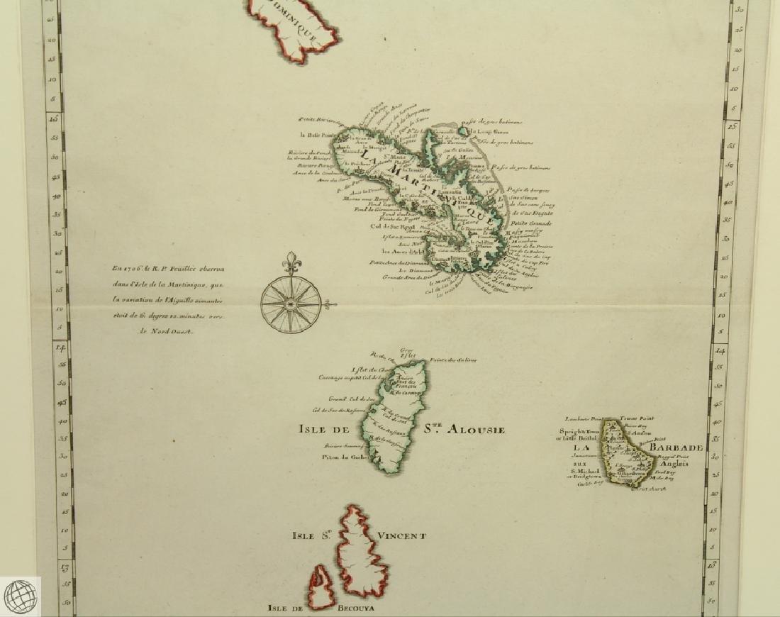 Carte des Antilles Françoises et des Indes Voisines - 4