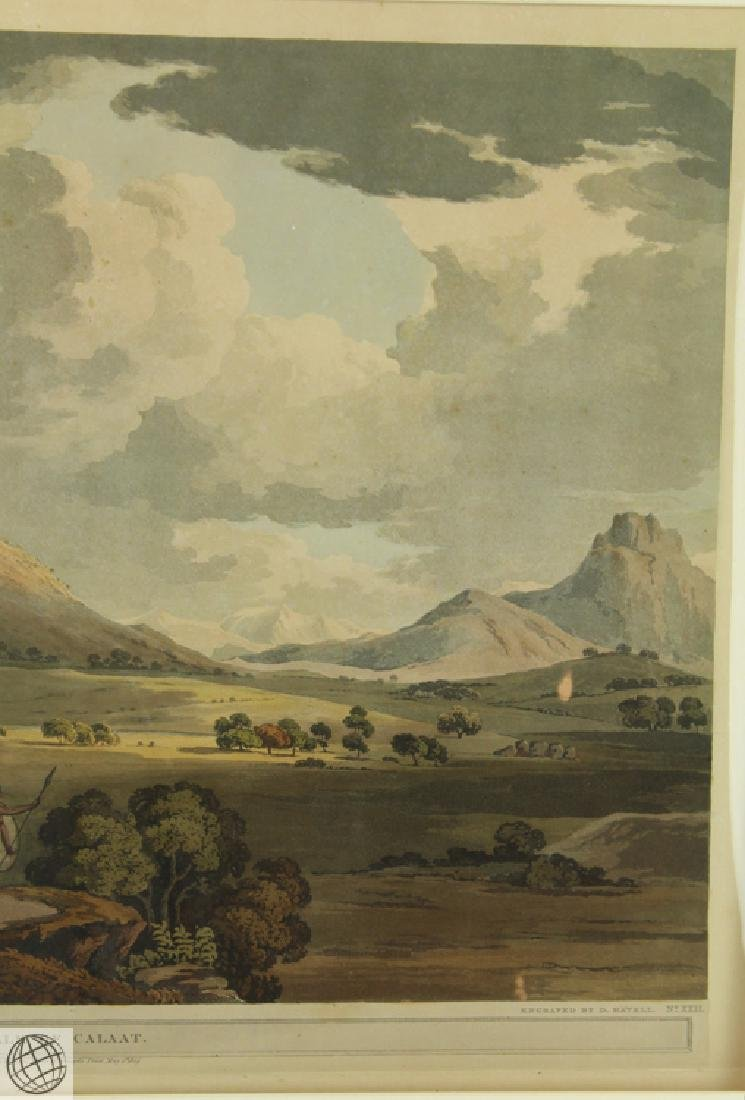 The Vale of Calaat HENRY SALT 1809 Aquatint Engraving - 4