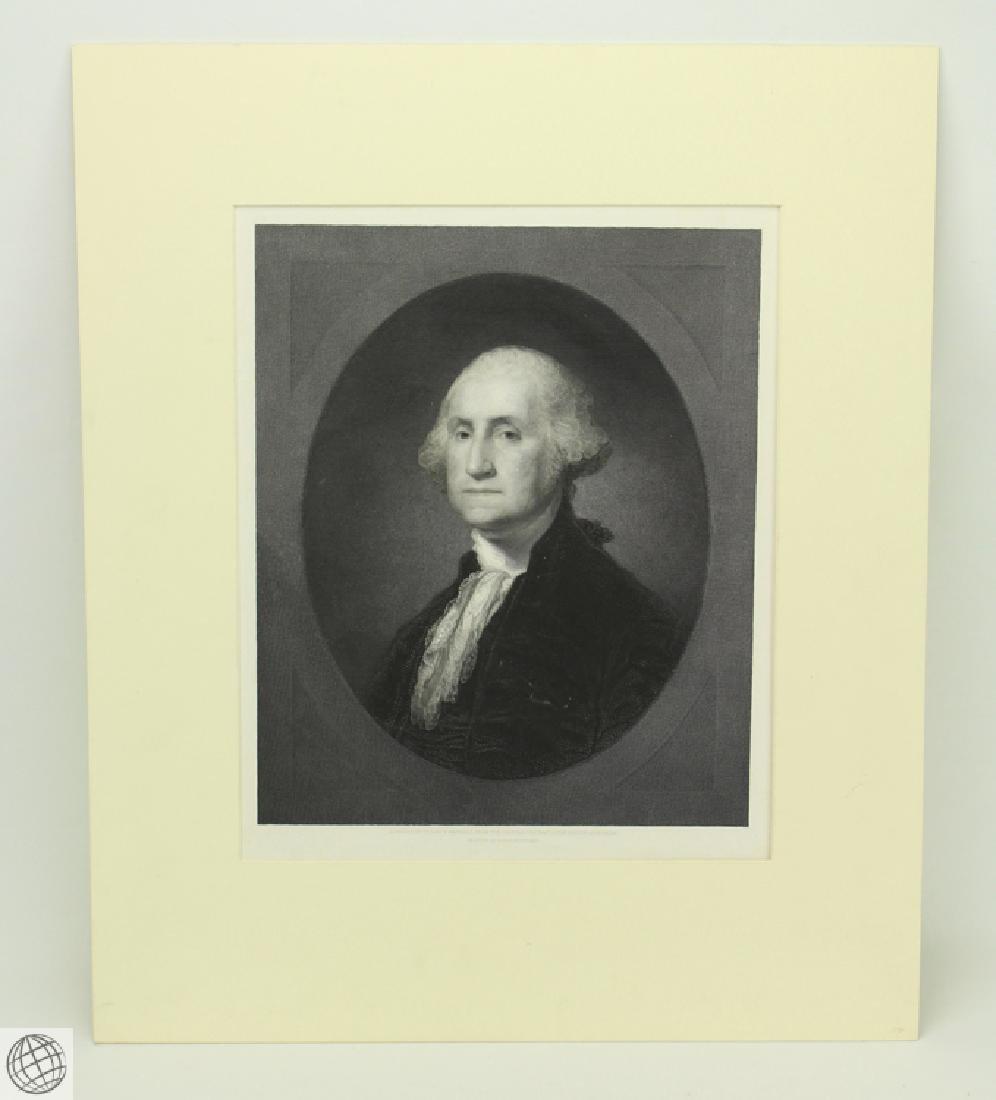 George Washington WILLIAM EDGAR MARSHALL After Gilbert