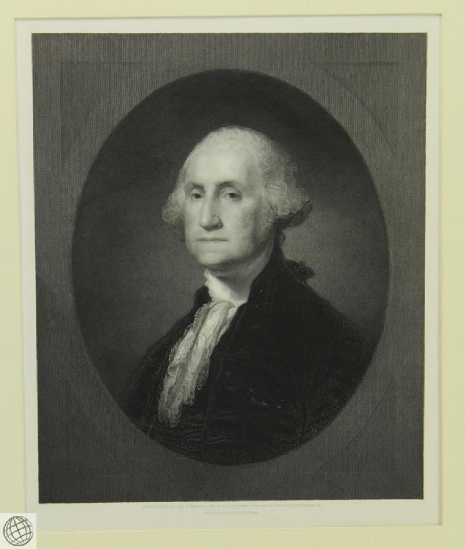 George Washington WILLIAM EDGAR MARSHALL After Gilbert - 2