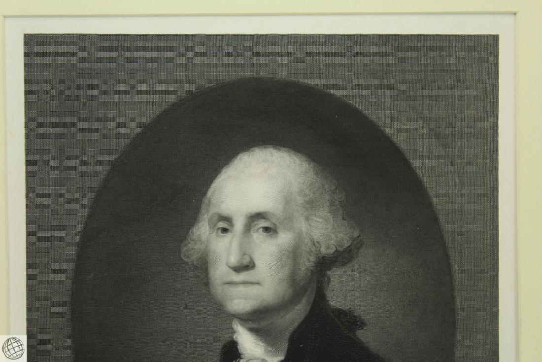 George Washington WILLIAM EDGAR MARSHALL After Gilbert - 3