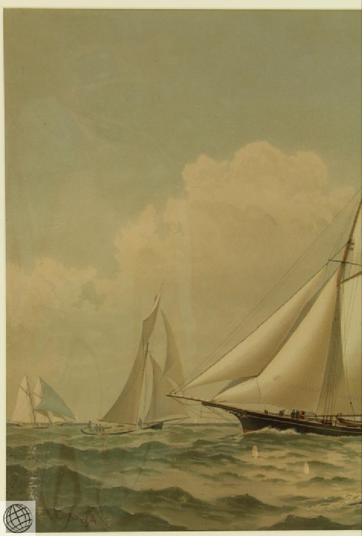 Under Minots Ledge Light FREDERIC S COZZENS 1884 - 3