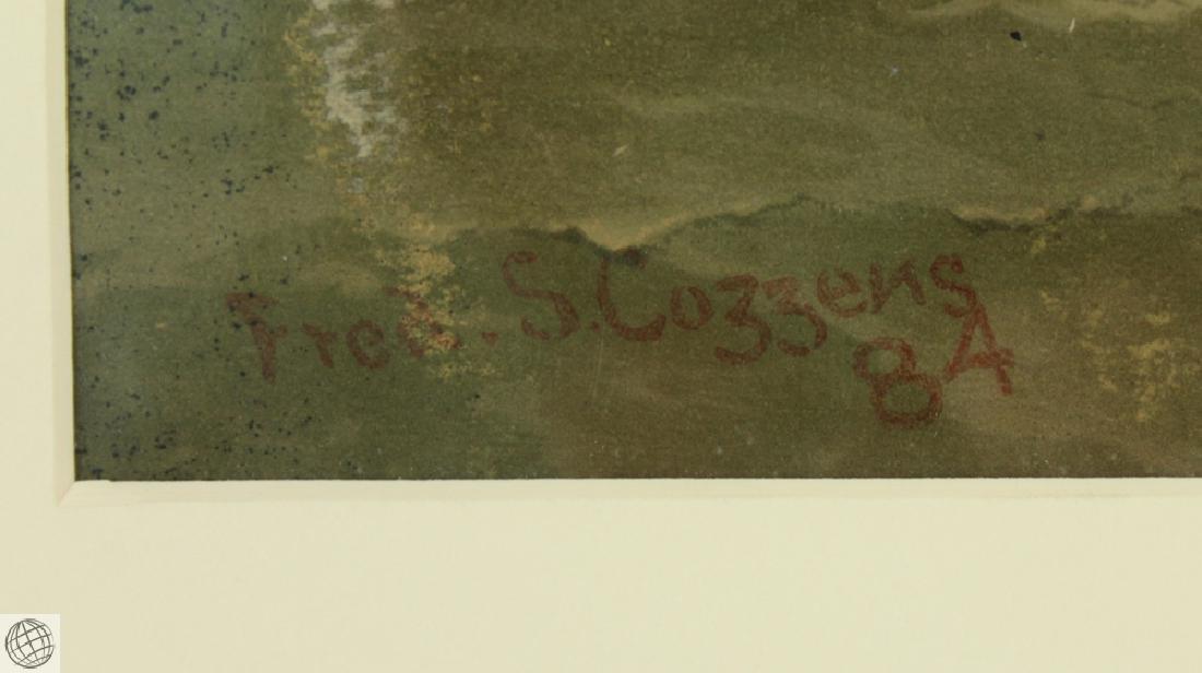 Under Minots Ledge Light FREDERIC S COZZENS 1884 - 5