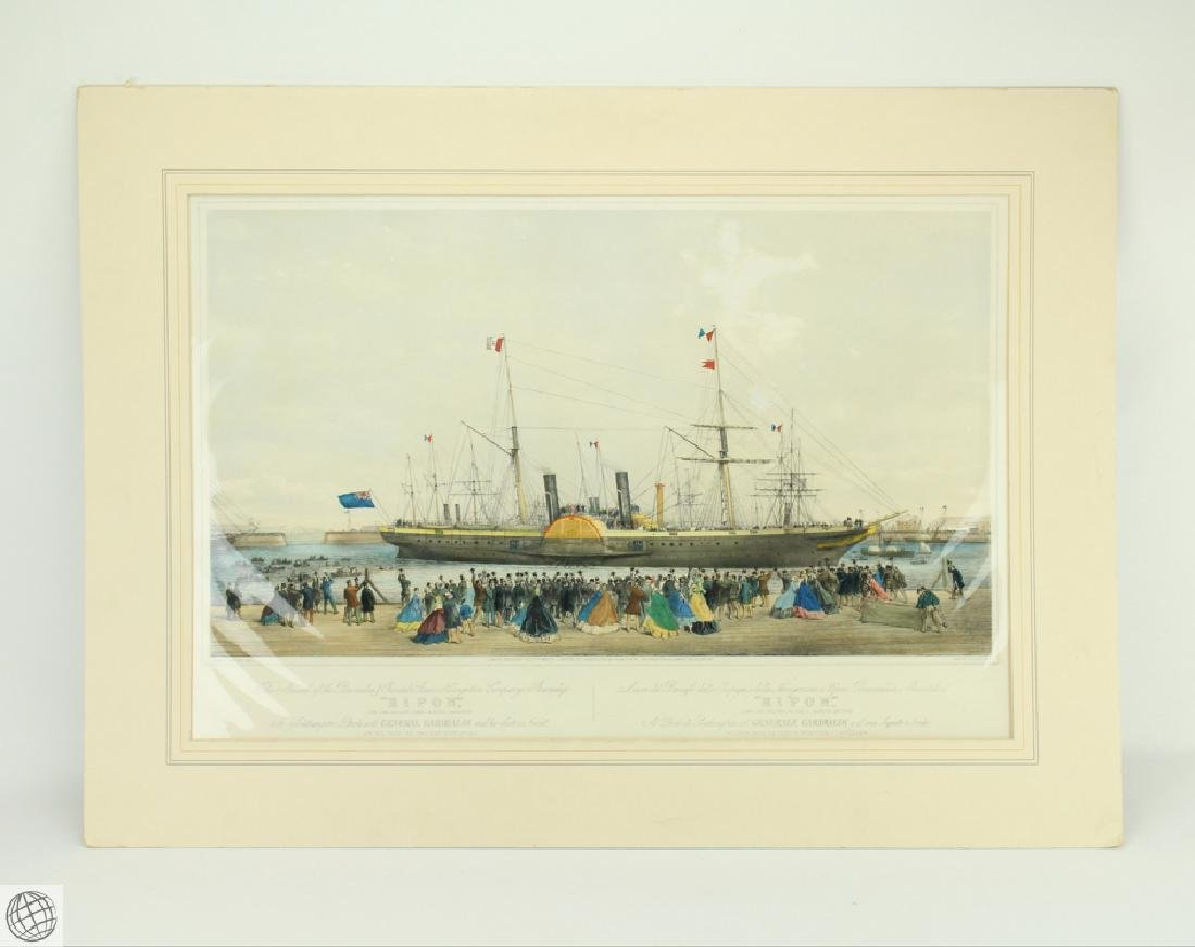 The Arrival of the Ripon in Southampton with General
