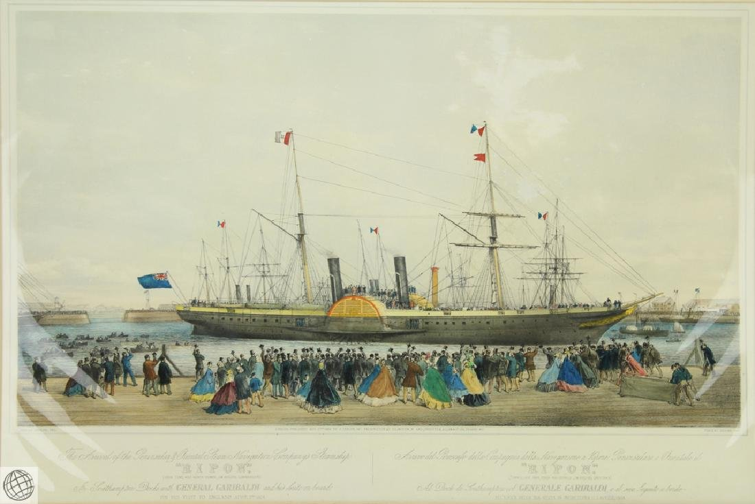 The Arrival of the Ripon in Southampton with General - 2