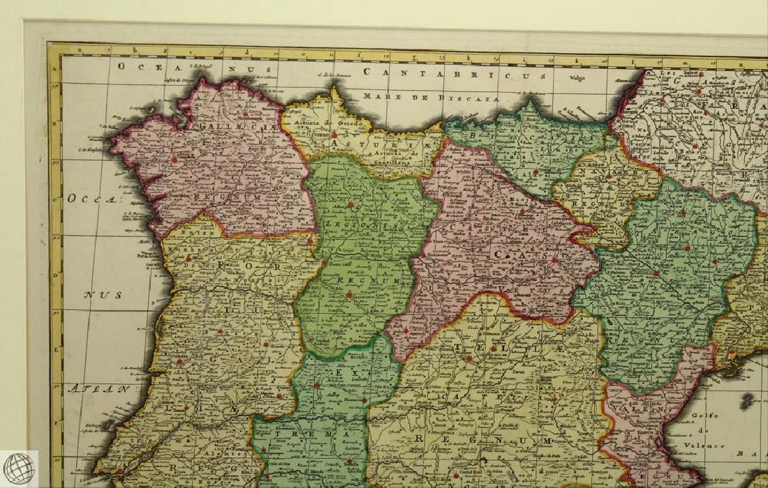 Hispaniæ et Portugalliæ Regna NICOLAES VISSCHER 1725 - 3