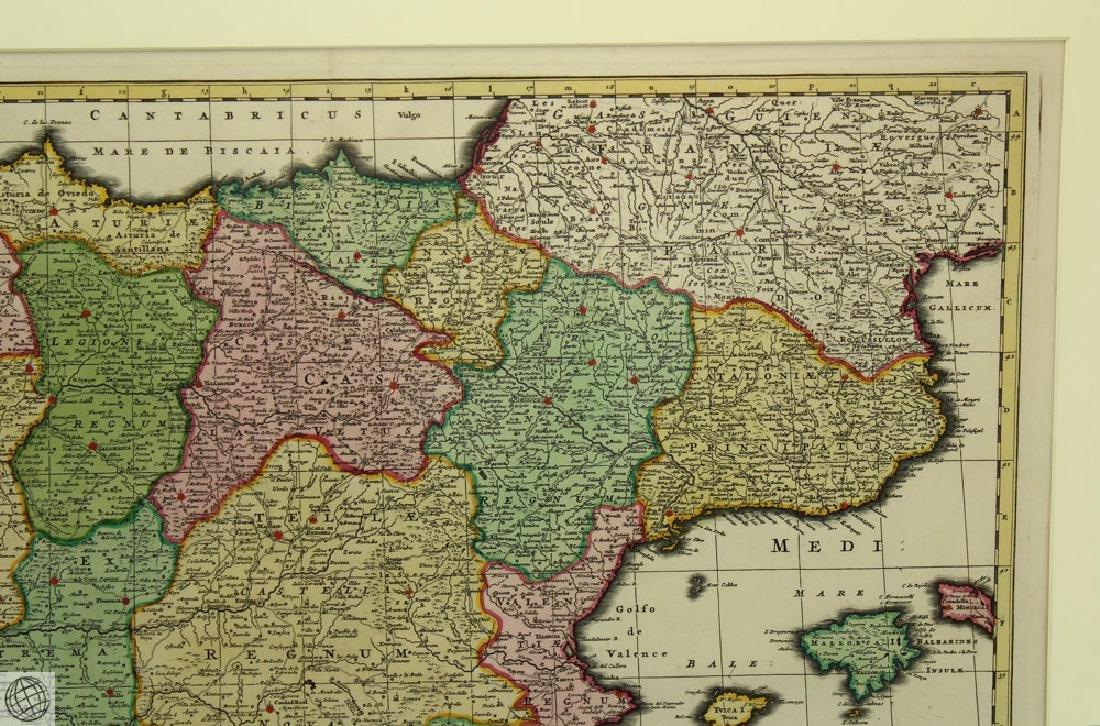 Hispaniæ et Portugalliæ Regna NICOLAES VISSCHER 1725 - 4