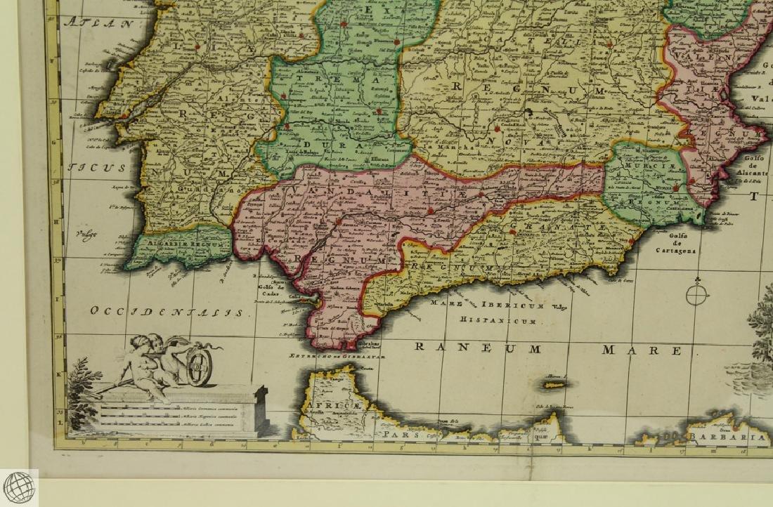 Hispaniæ et Portugalliæ Regna NICOLAES VISSCHER 1725 - 6