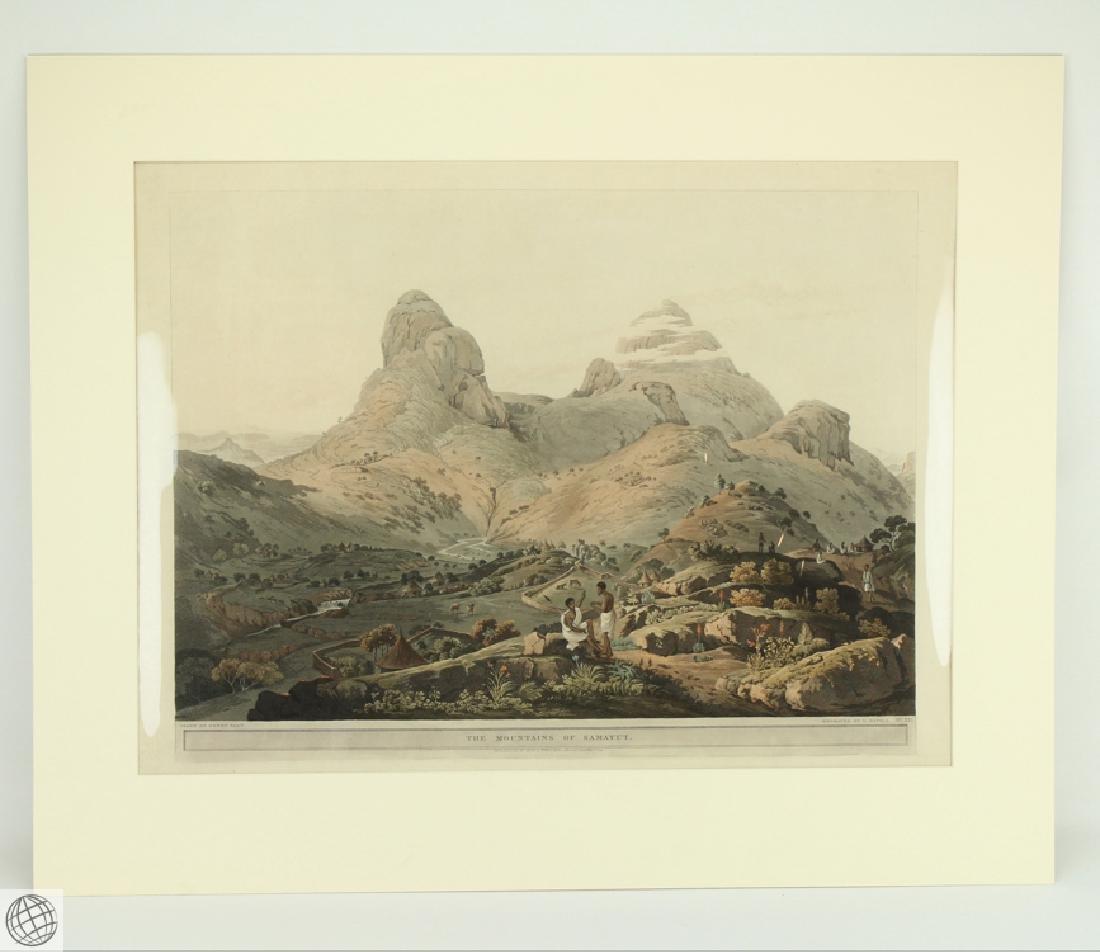 The Mountains of Samayut HENRY SALT 1809 Aquatint
