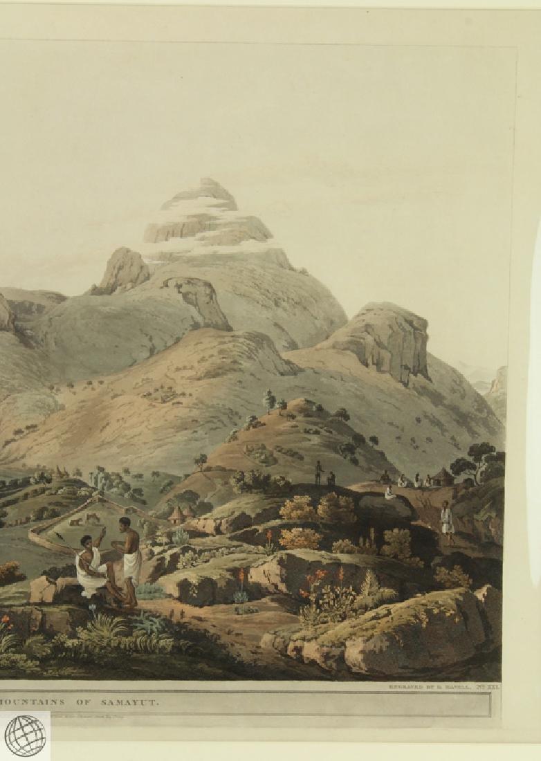 The Mountains of Samayut HENRY SALT 1809 Aquatint - 4