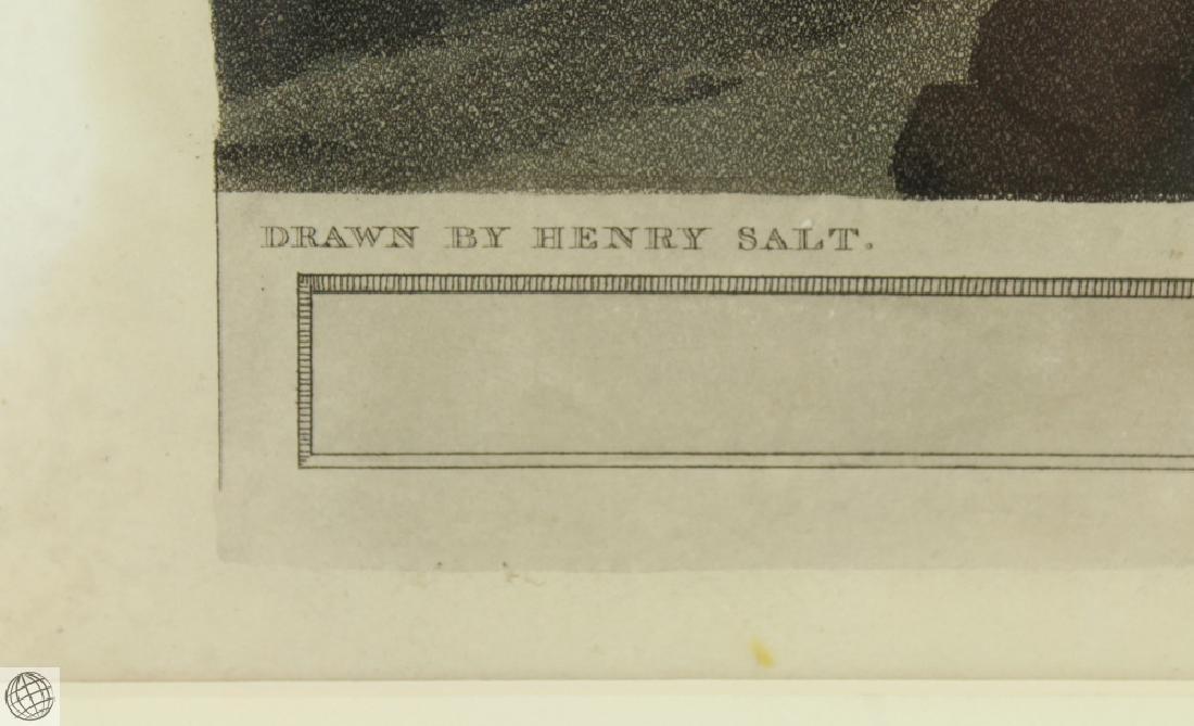 The Mountains of Samayut HENRY SALT 1809 Aquatint - 6