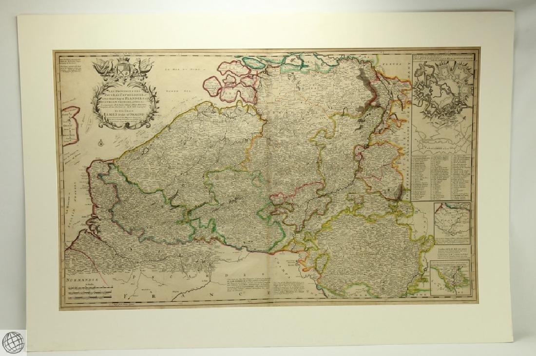 Les Provinces des Pays-bas Catholiques ou HERMAN MOLL