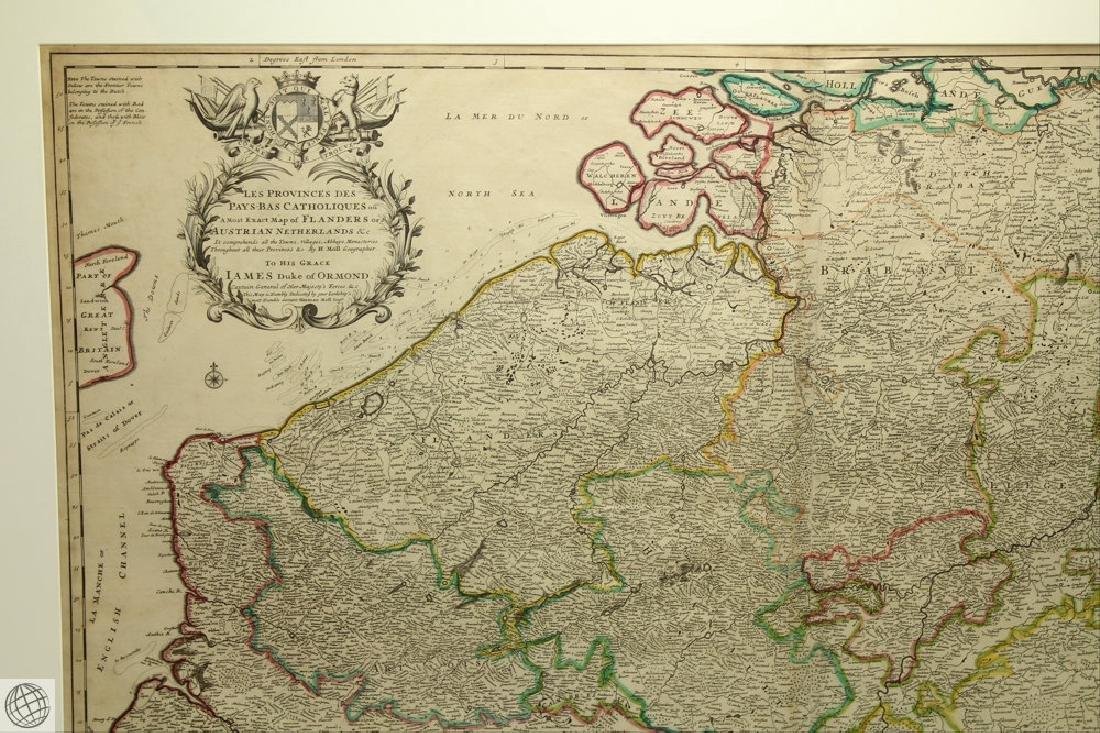 Les Provinces des Pays-bas Catholiques ou HERMAN MOLL - 2