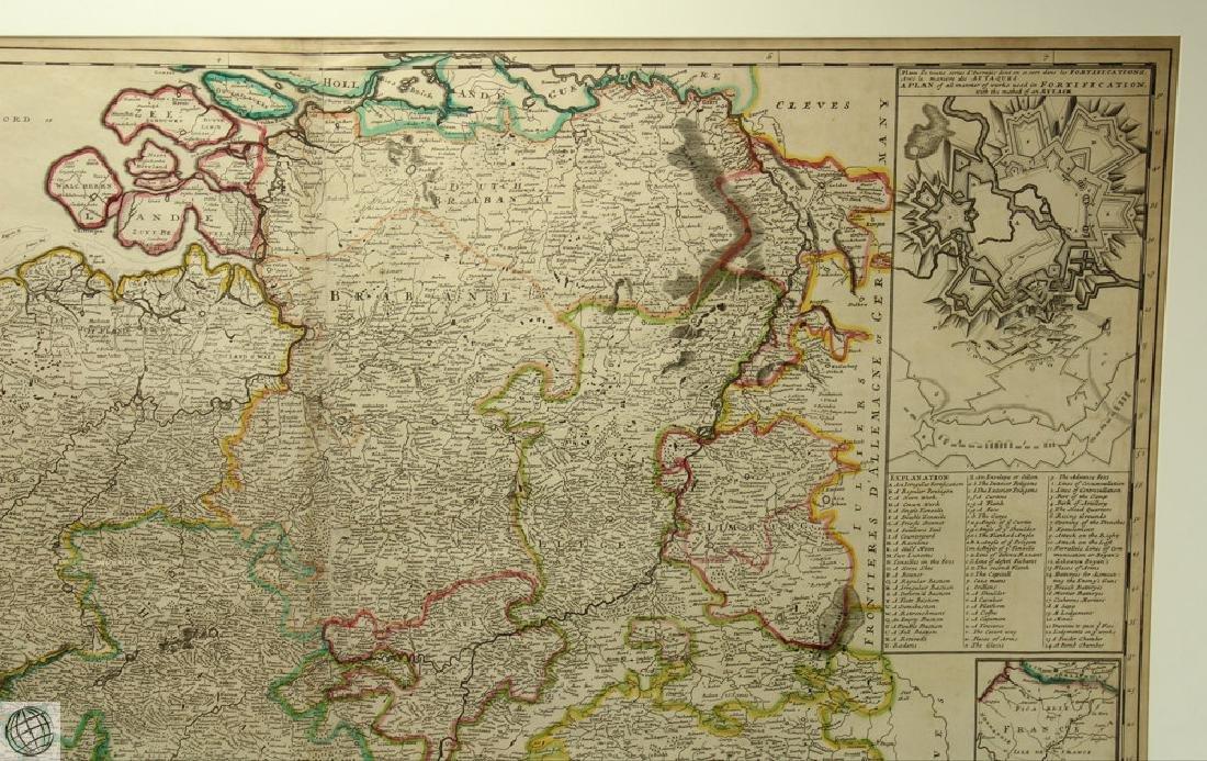 Les Provinces des Pays-bas Catholiques ou HERMAN MOLL - 3