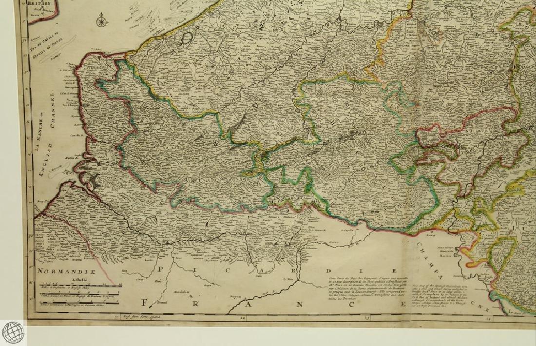 Les Provinces des Pays-bas Catholiques ou HERMAN MOLL - 4