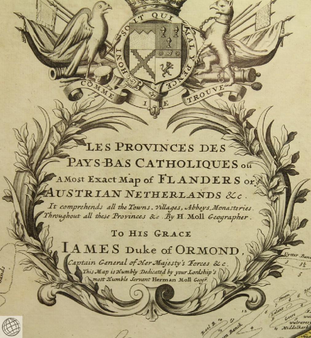 Les Provinces des Pays-bas Catholiques ou HERMAN MOLL - 5