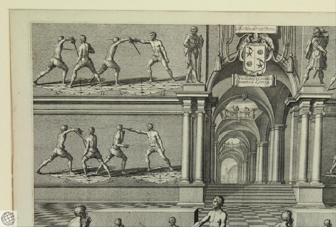 Tabula XXIX Academie de l'Espee GIRARD THIBAULT 1628 - 3