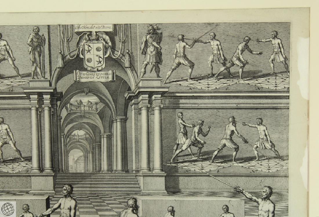 Tabula XXIX Academie de l'Espee GIRARD THIBAULT 1628 - 4
