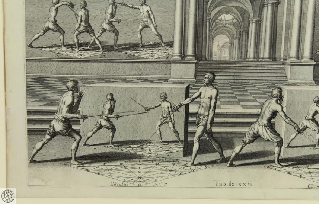 Tabula XXIX Academie de l'Espee GIRARD THIBAULT 1628 - 6