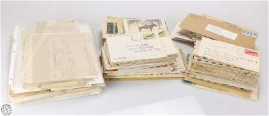 Large Collection ANTIQUE AND VINTAGE DOCUMENTS AND