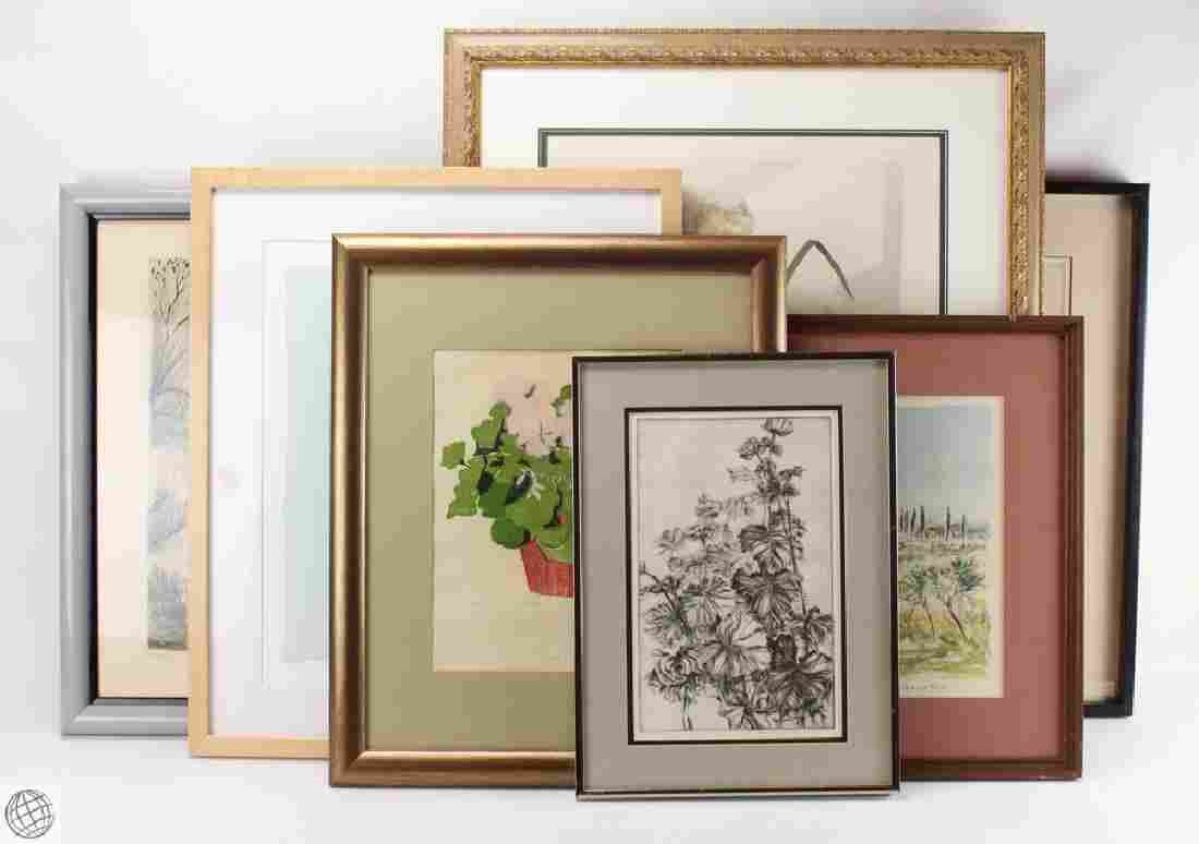 7Pcs Signed CONTEMPORARY REALIST PRINTS Katherine