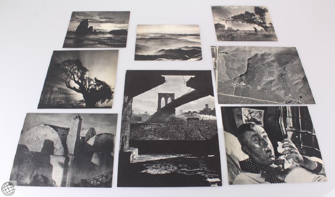 8Pcs Atkeson C1930-1940 PHOTOGRAVURES Genthe Laughlin