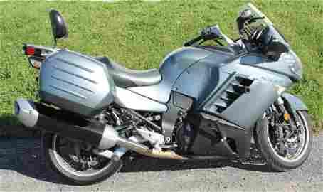 2008 KAWASAKI CONCOURS 14 MOTORCYCLE SPORT TOURING 1400