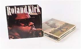13pcs Jazz Vintage Vinyl RAHSAAN ROLAND KIRK Promo Copy