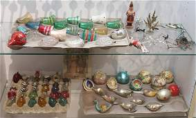 Large Collection Vintage CHRISTMAS DECORATIONS