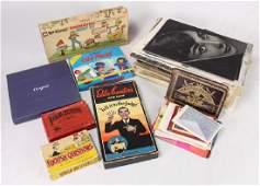 Large Collection VINTAGE/ANTIQUE ESTATE EPHEMERA Board