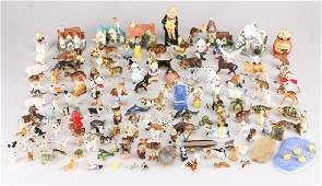 Large Collection COLLECTIBLE CERAMIC FIGURINES