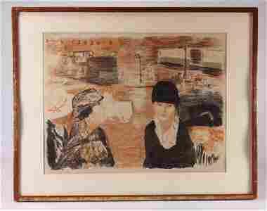 Pierre Bonnard PLACE CLICHY 1922 Color Lithograph Wove