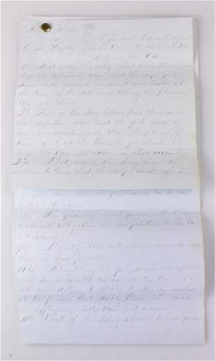 American History Slavery NOTES TO JURY FROM UNSOUND