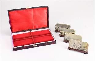 4pcs Decorative Box Set CONTEMPORARY CHINESE
