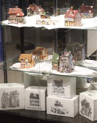 5Pcs Dept 56 Dickens Heritage Village MR WICKFIELD