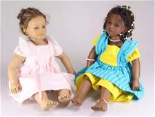 2Pcs Collectible DOLLS ANNETTE HIMSTEDT BAREFOOT