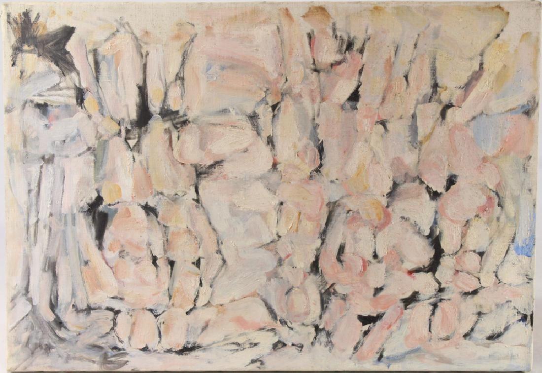Original Oil Canvas SALVATORE GRIPPI Untitled 1954