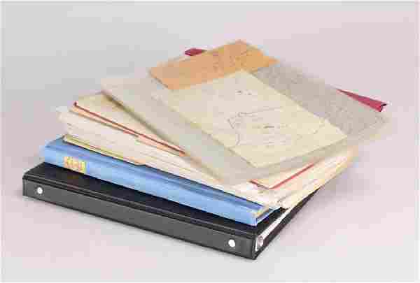 Large Historical Archive 16 ORIGINAL MANUSCRIPT CIVIL