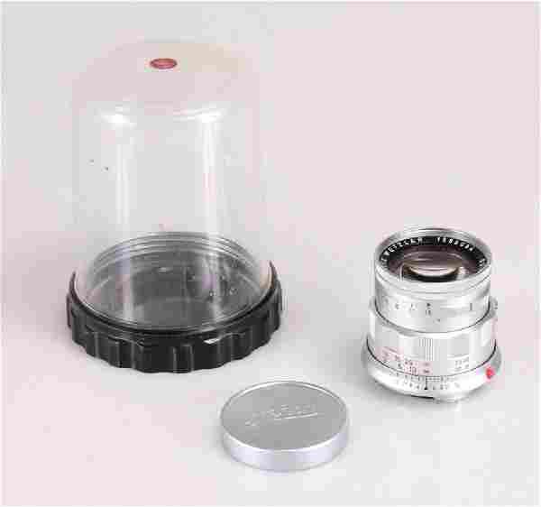 Vintage LEICA LENS C1960s Original Leica Case Summicron