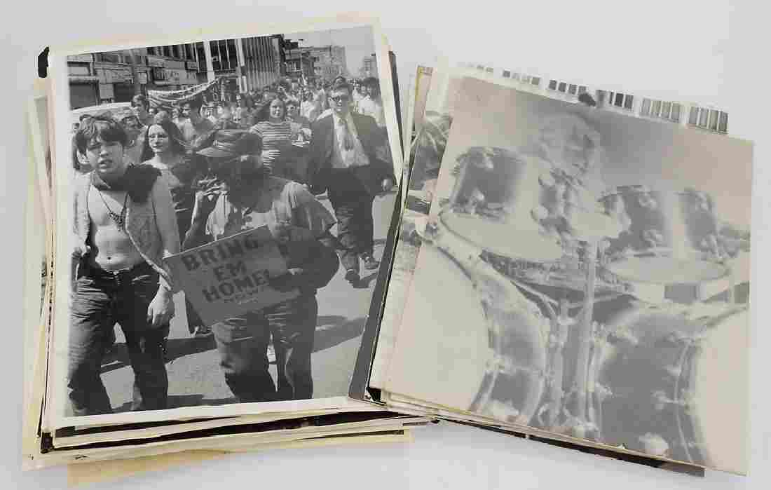 Large Collection VINTAGE PRESS PHOTOS 1960s/70s History