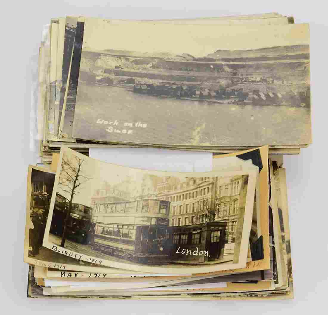 Large Collection WORLD WAR I PHOTOGRAPHS AND POSTCARDS