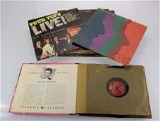 34pcs Classic Rock Jazz VINTAGE VINYL ALBUMSRECORDS