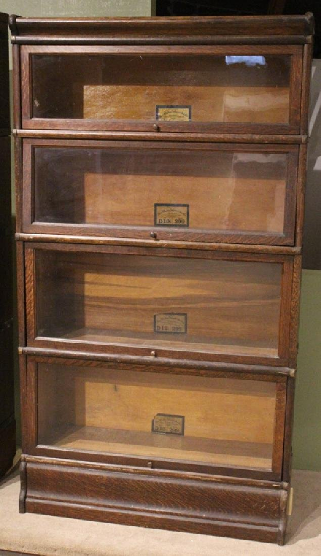 Early 20th Century GLOBE-WERNICKE CO BARRISTER BOOKCASE