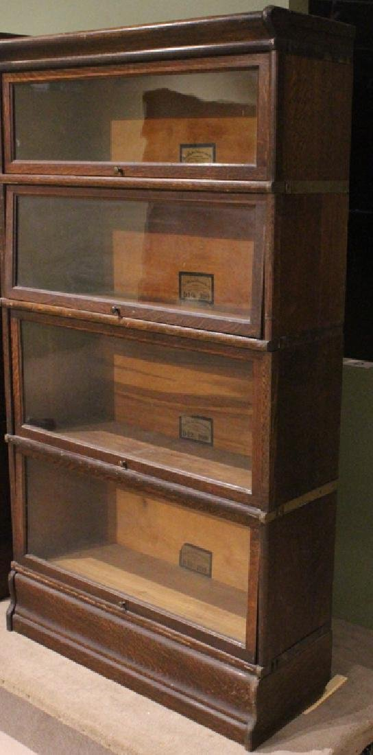 Early 20th Century GLOBE-WERNICKE CO BARRISTER BOOKCASE - 2