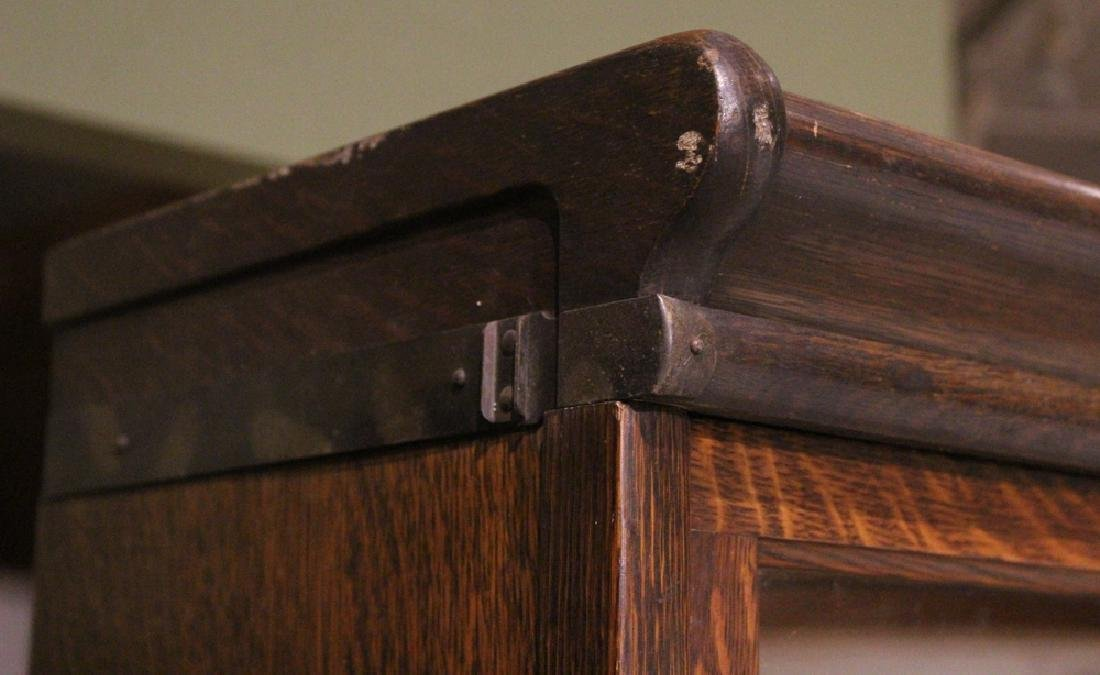 Early 20th Century GLOBE-WERNICKE CO BARRISTER BOOKCASE - 3